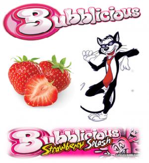 Bubblicious Strawberry/Fraise