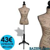 Buste de couture Mannequin LIVRAISON GRATUITE