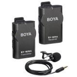 BOYA BY-WM4 PRO K1 kit Microphone HF sans fil 1 émetteur et 1 récepteur