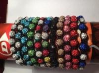 Lot de 20 bracelet shamballa