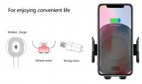 Newest Infrared Induction Fast Wireless Charger