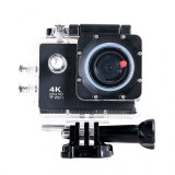 Caméra Sports 4K Ultra HD 12MP WiFi Etanche 30m -Noir