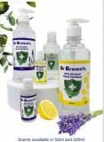 Gel Hydroalcoolique Dr Browne's 50 Ml parfumé ou sans parfum