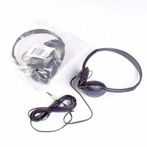 Casque Stéréo LH-216D noir cable 1.5m jack