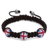 Bracelet Shamballa Union Jack