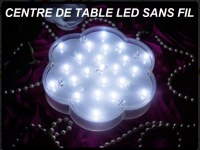 Centre de table Led