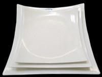 Assiette blanche bord relevé 22 cm