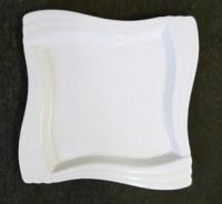 Assiette petite céramique blanche