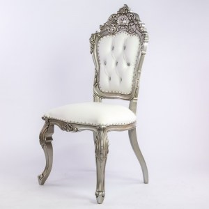 Chaise mariage blanche