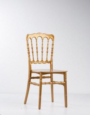 Chaise napoléon 3 en polypropylène doré