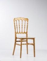 Chaise napoleon en polypropyène doré