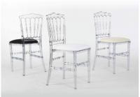 Grossiste chaise napoleon transparente
