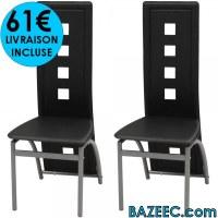 Lot de 2 Chaises de salle à manger LIVRAISON GRATUITE