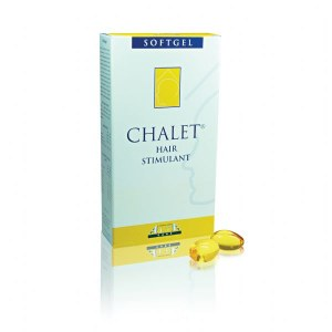 Chalet Stimulant Cheveux - Softgels x100