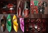 Chaussures indiennes en cuir