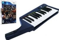 Clavier Pro + Jeu Rock Band3 Wii