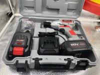Clé à Chocs Sans Fil, KRAFTMULLER 20V Boulonneuse a Choc Electrique (4.0Ah Batterie Lit...)