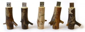 Clefs USB Wooden
