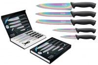 Coffret de 5 Couteaux de cuisine PRADEL EVOLUTION + éplucheur