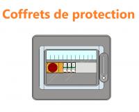 Coffrets de protection photovotaïque
