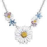 Collier fabos cristal swarovski floral