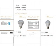 AMPOULE LED RECHARGEABLE / LED EMERGENCY BULB