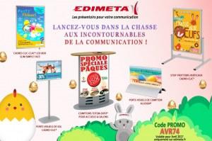 EDIMETA - Code promo pour Avril 2017
