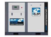 ARRIVAGE COMPRESSEURS A VIS GELAIR FALCON 45 kW LG-7.5/8 ou 10 BARS