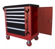Servante d'atelier en GROS KRAFTMULLER - Outils 245 pcs tools - 6 Tiroirs