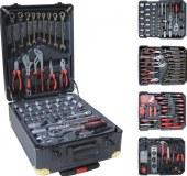 Lot de 10 Mallette à outils complète Kraft Müller 256 pièces