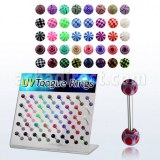 Fournisseur Piercing Acier Chirurgical Barbell Langue