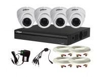 Systeme de videosurveillance 4 caméras FULL Haute définition