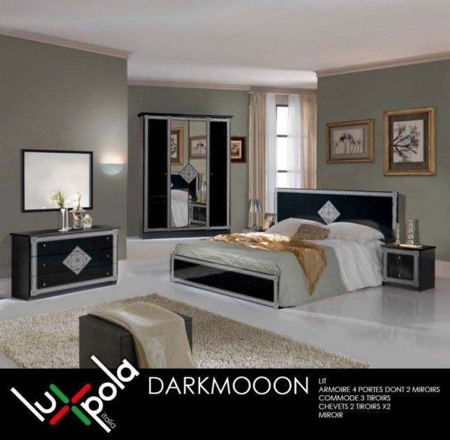 Chambre complete darkmoon destockage grossiste for Acheter chambre complete