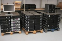 Lot de 50 unites centrales dell optiplex 745/755/760 core 2 duo 2.3ghz 2g 160Go