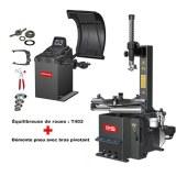 Kit spécial garage automobile, machine à pneus et équilibreuse de roues WERTHER