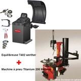 Kit spécial garage machine à pneu équilibreuse de roue WERTHER