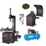 Kit spécial garage automobile, machine à pneus, équilibreuse et compresseur