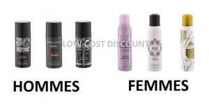 Deodorant parfum LINN YOUNG homme / femme 150 ml