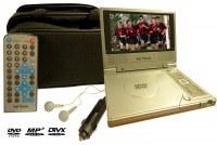 """Lecteur DVD DivX portable 7"""" (18 cm)"""