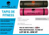 TAPIS DE FITNESS PREMIUM FITKILLS™