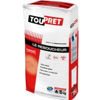 Le reboucheur cachet rouge Toupret (15kg) : enduit de rebouchage en poudre sans limite...