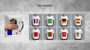 Tshirts Moèles uniques Coupe du monde de Russie