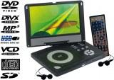 Lecteur DVD DivX portable rotatif 10,5 pouces (26,7 cm)