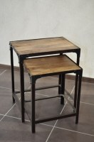 Tables basses gigognes industrielles