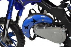 Zipper dirt bike mini moto 50cc à essence pour enfants
