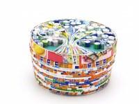 Boite Arbre de vie en papier recyclé