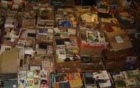Lot de 1000 livres d'occasion