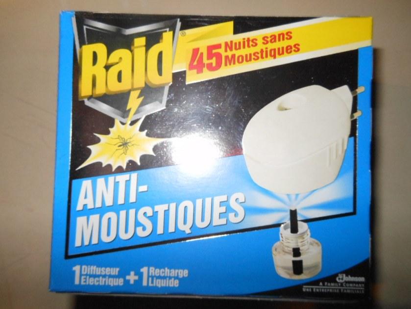Diffuseur anti moustiques - Raid anti moustique ...
