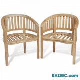 DUO Chaises TECK
