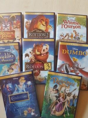 DVD DISNEY Officiels Français Numérotés